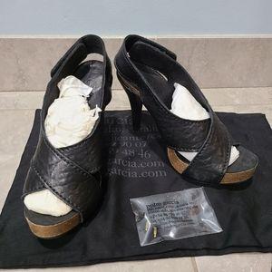 Pedro Garcia Black Chiara-ts Heel